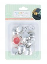 12 BOUTONS A RECOUVRIR + OUTIL