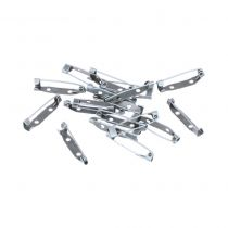 20 BROCHES 30 MM - ARGENT