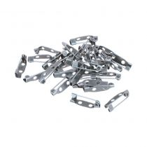 30 BROCHES 20 MM - ARGENT