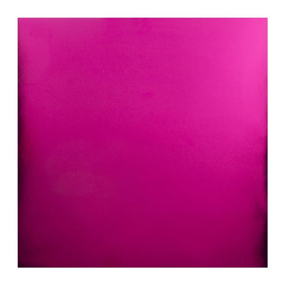 BAZZILL FOIL CARDSTOCK HOT PINK
