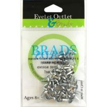 BRADS 8MM SHINNY SILVER