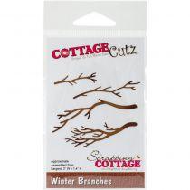 CottageCutz Die Winter Branches