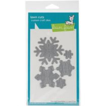 CUTS CUSTOM CRAFT DIES Stitched Snowflakes