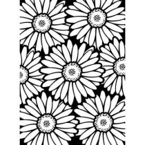 EMBOSSING FOLDER BOLD DAISY