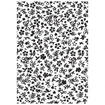 EMBOSSING FOLDER LITTLE FLORAL