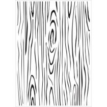 EMBOSSING FOLDER WOODGRAIN