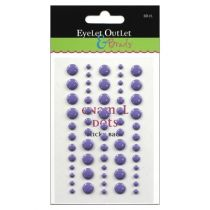 ENAMEL DOTS PURPLE