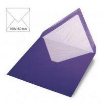 Enveloppe 16x16 cm, 90g, violet