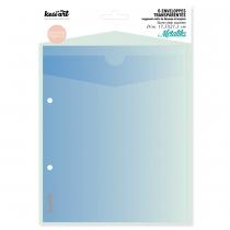 enveloppes transparentes de rangement