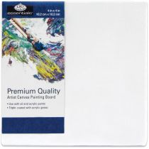 "Essentials Premium Canvas Board 4\""X4\"""