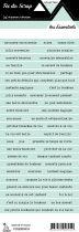 étiquette les essentiels lagon 1 bandes de mots