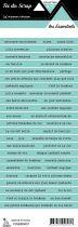 étiquette les essentiels lagon 2 bandes de mots