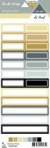 étiquette un air de noel étiquettes rectangles