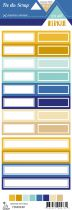 Etiquette un air ibérique - étiquettes rectangles