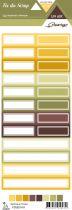 étiquette un air sauvage - automne étiquettes rectangles