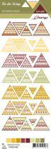 étiquette un air sauvage triangles ethniques
