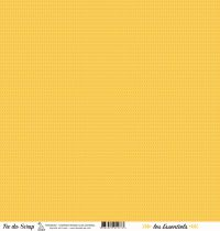 feuille les essentiels chevrons orange clair automnal