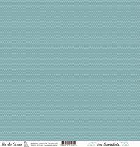 feuille les essentiels croisillons bleu gris marin