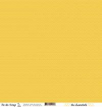 feuille les essentiels croisillons jaune chic