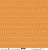 feuille les essentiels croisillons orange chic