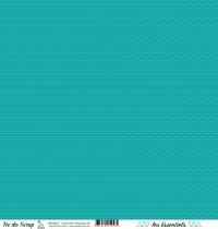 feuille les essentiels croisillons turquoise chic