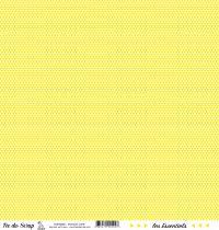 feuille les essentiels jaune triangles