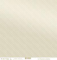 feuille les essentiels métallisés diagonales or