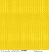 feuille les essentiels moutarde pois