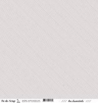 feuille les essentiels taupe rayures