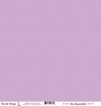 feuille les essentiels violet moyen pois