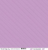 feuille les essentiels violet rayures