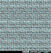 feuille Les mots bonheur bleu/gris