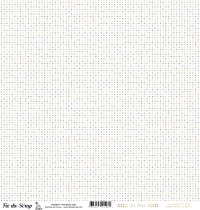 feuille Les pois beige/gris