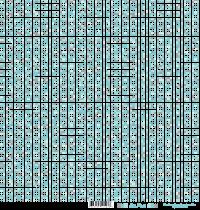 feuille Les pois bleu/gris