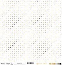 feuille Un air Chic beige points