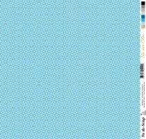 feuille Un air Chic bleu danse des triangles