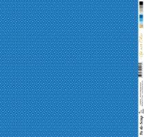 feuille Un air Chic bleu etoile nordique bleue
