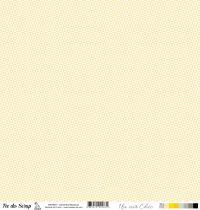 feuille Un air Chic jaune danse des triangles