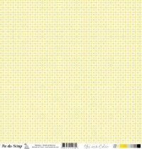 feuille Un air Chic jaune ronds entrelacés