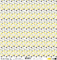 feuille Un air Chic jaune Triangles