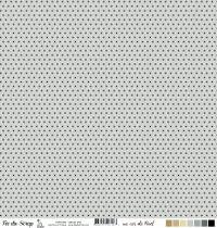 feuille un air de noel cercles gris
