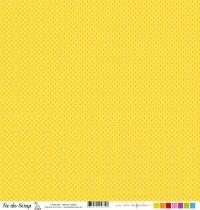 feuille un air enfantin cercles jaunes
