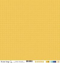 Feuille un air ibérique - cercles jaunes