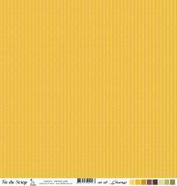 feuille un air sauvage - automne chevrons jaune