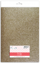 Glitter therm. A4 Champagne