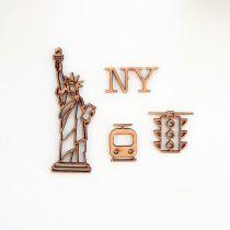 GRAND LOT EMBELLISSEMENTS BOIS - NEW-YORK
