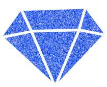 IZINK Peinture Diamond - Bleu