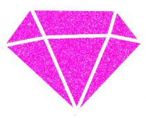 IZINK Peinture Diamond - Fuchsia