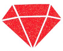 IZINK Peinture Diamond - Rouge