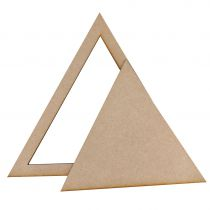LOT DE 2 TRIANGLES MDF 3 MM